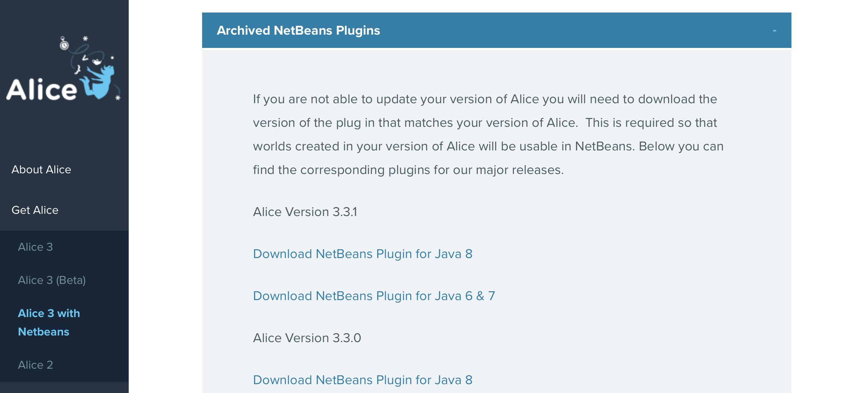 Alice FAQ / Download and Install Plugin